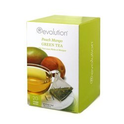 Herbata Revolution Peach Mango Green Tea 20 torebek